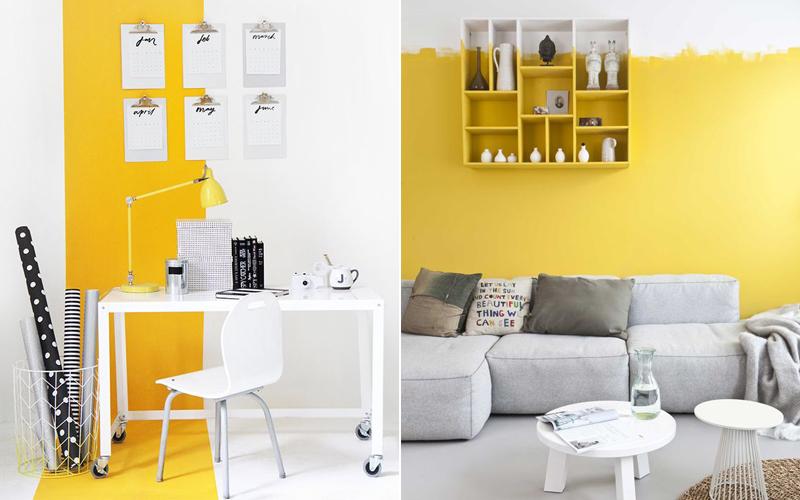 Accessoires woonkamer geel 170618 ontwerp for Interieur geel